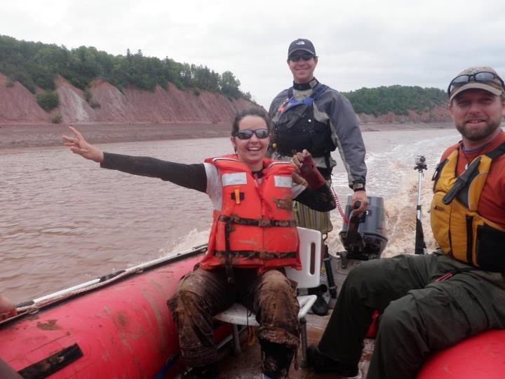 River Rafting on the Shubenacadie River Nova Scotia