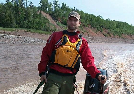 Tidal Bore Rafting in Nova Scotia