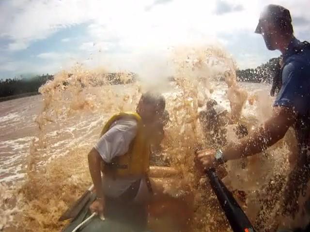 Rafting on the Shubenacadie River